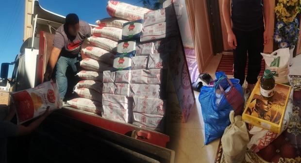 كورونا لم يمنع جمعية تيفاوين لكفالة اليتيم بميراللفت من مساعدة الأيتام المتكفل بهم